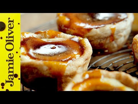 Jamie's Quick Portuguese Custard Tarts