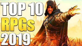 Top 10 RPGs You Should Play In 2019