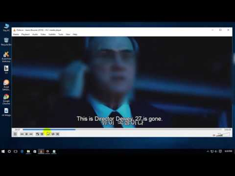 How to change subtitle position and Colour in vlc media player