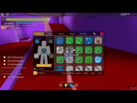 Testing My New Chaos Blade!!! [SwordBurst 2] - YouPlay