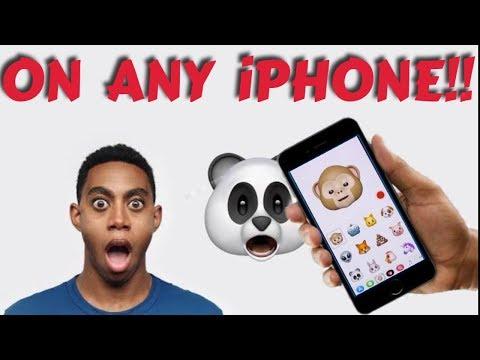 Get iphone X emoji on any iphone| animoji on any iphone