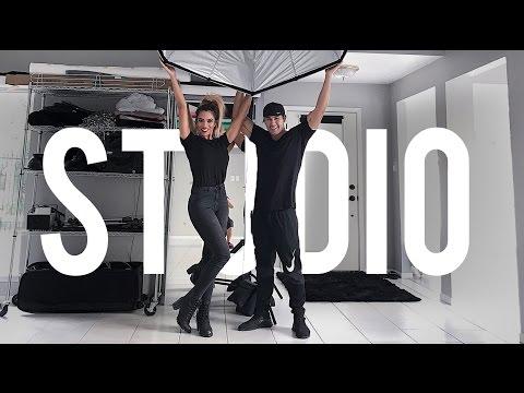 Photography Studio & Makeup Studio Tour