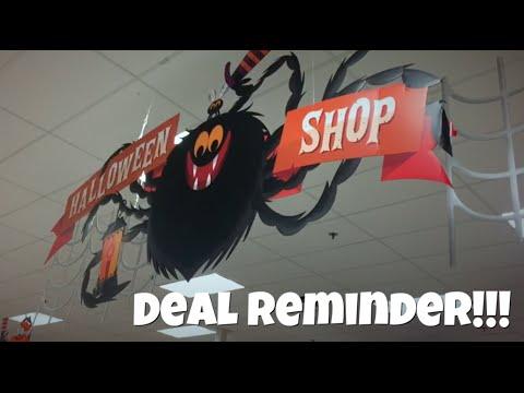 REMINDER! Halloween Costumes & Accessories BUY 1 Get 1 FREE at Target | QUICK DEALS
