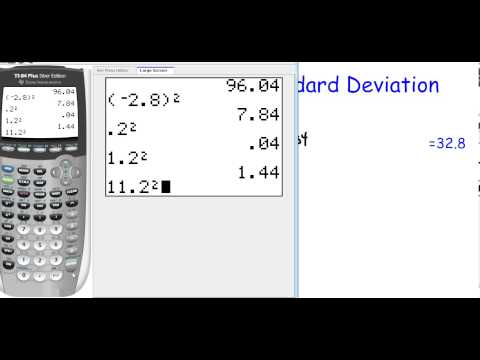 How to Calculate Stadard Deviation (12.4)