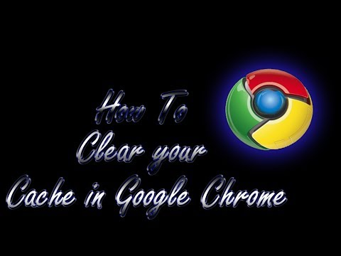 Google Chrome- How To Delete Browser History/Cache