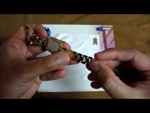 How to adjust Anne Klein watch bands the easy way