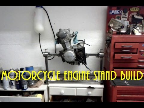 Motorcycle Engine Stand Build - Learning to Weld