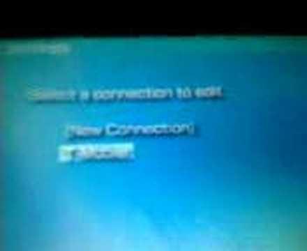 PsP wifi error 80410a0b