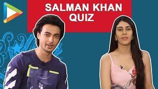 ULTIMATE Salman Khan QUIZ with Aayush Sharma & Warina Hussain   Loveratri
