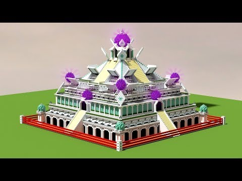 Building a MODERN AZTEC TEMPLE in Minecraft! - Epic Build
