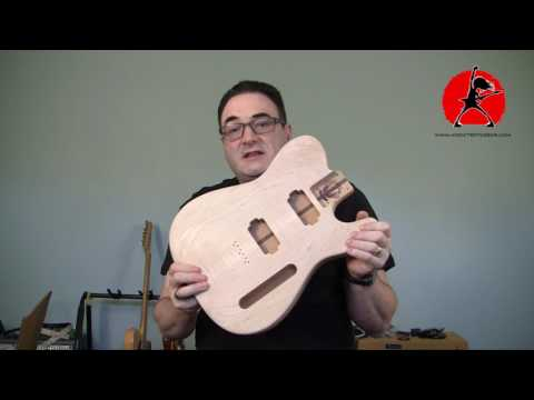 Holy Grail Guitar Co. Raw Unfinished Guitar Bodies