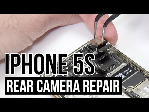 iPhone 5s Rear Camera Replacement Video Guide