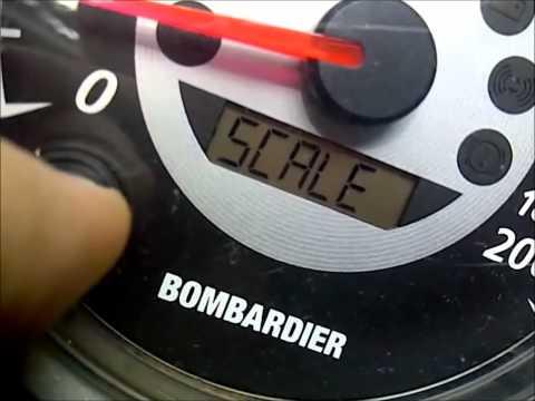Ski Doo Speedometer problem/ Fix