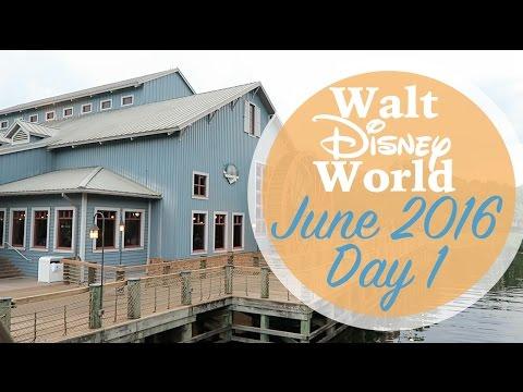 Walt Disney World Vlog Day 1 | June 2016 | Travel & Port Orleans Riverside | Adam Hattan