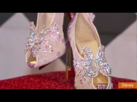 Christian Louboutin Partners with Disney to Create Cinderella Shoe