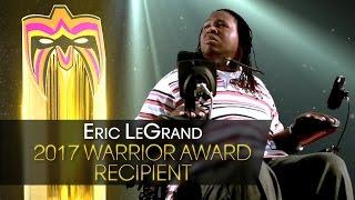 Eric LeGrand to receive the 2017 Warrior Award