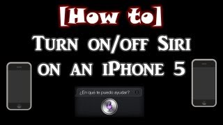 How To Turn Onoff Siri On An Iphone 4s5