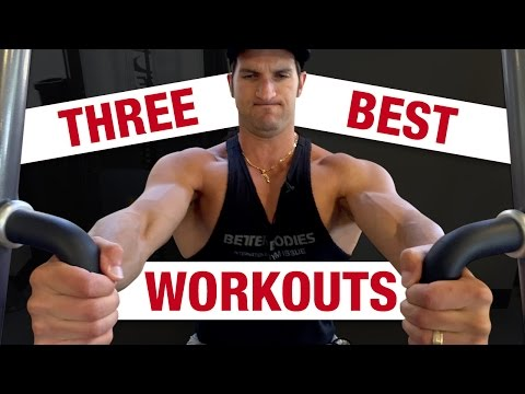 How To Get Bigger Chest Muscles (3 WORKOUTS FOR A BIGGER CHEST)