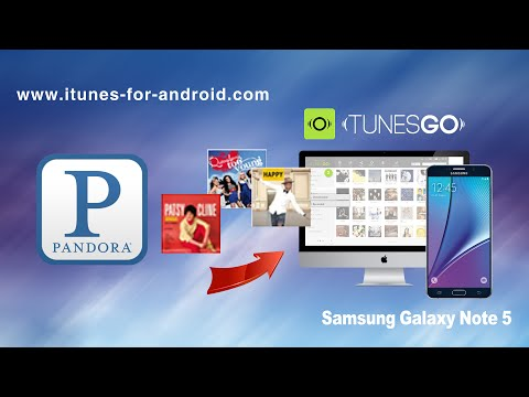 How to Download Music from Pandora to Samsung Galaxy Note 5 / Note 4 /Note 3 on Mac for Free