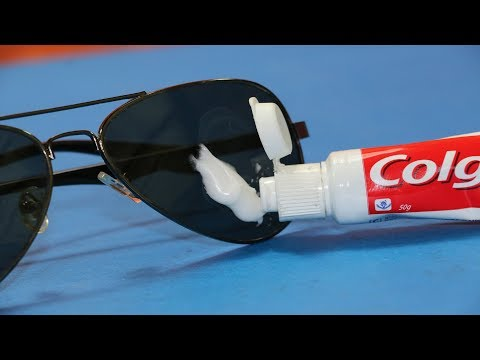 How To Clean & Remove Scratches on Goggle