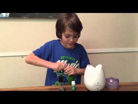 Helping kids sleep with essential oils