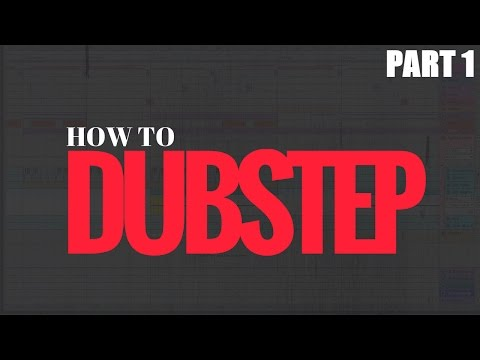 How to Make a Dubstep Drop Tutorial - Free Ableton Live 9 Project (part 1)