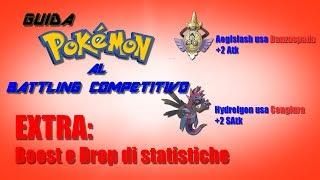 Guida Pokémon al Battling Competitivo - EXTRA: Boost e Drop di statistiche