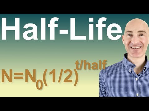 Half Life Formula & Example