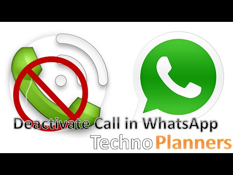 How To deactivate WhatsApp Calling feature