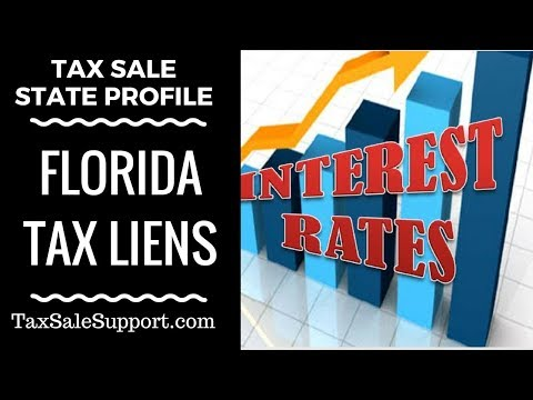 Florida Tax Sales: How Tax Lien auctions in FL work?