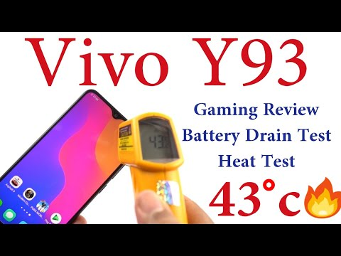 Vivo Y93 Gaming Review, Battery Drain Test, Heat Test
