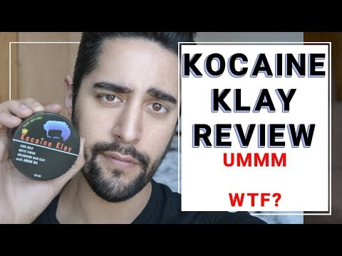 Kocaine Klay Product Review - WTF IS THIS?! Men's Grooming Styling Product ✖ James Welsh