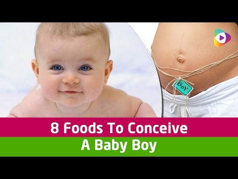 How to conceive a baby boy? - 8 Foods To Conceive A Baby Boy