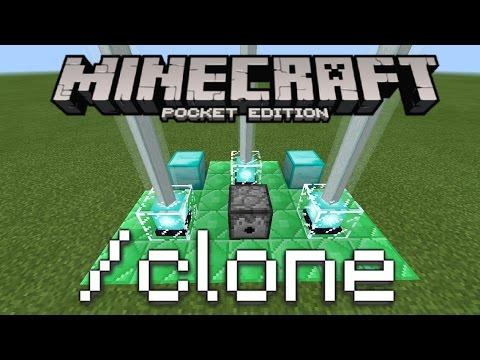 Minecraft PE - Clone Machine Redstone Tutorial! (How To Clone Yourself!)