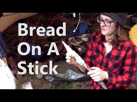 Baking Bread On A Stick