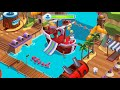 Talking Tom Pool Building Octo Pool Pirate Cove At Once Talking Tom Games For Kids Droidnation