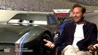 Armie Hammer Voices Rival Jackson Storm In CARS 3   Exclusive Interview