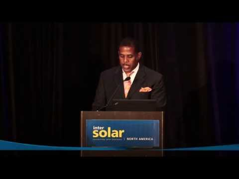 Standing Ovation at the Intersolar North America Opening Ceremony