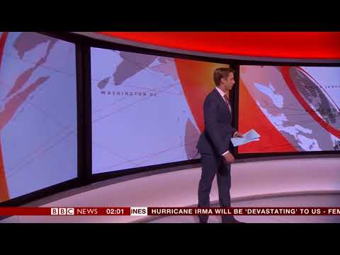 Confused BBC Newsreader Tom Donkin in Embarrassing On Air Blunder