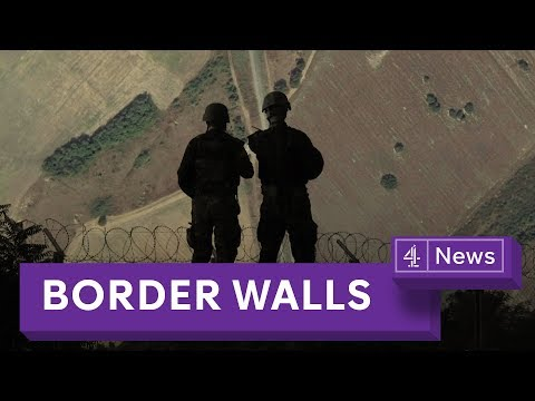 Why the number of border walls is increasing around the world