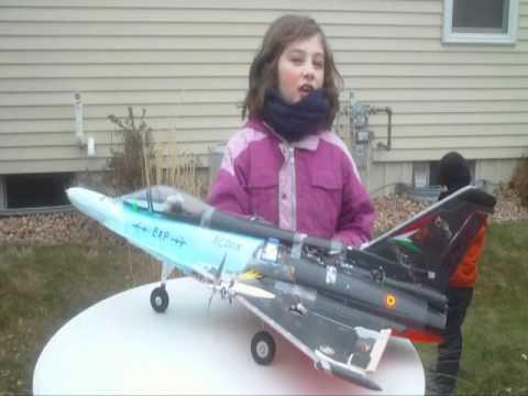 RCDOX 2011 EUROFIGHTER twin prop design success RC plane