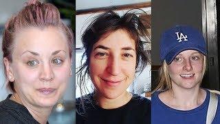The Big Bang Theory Without Makeup