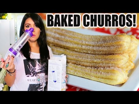 BAKED CHURROS?! SURE, OHHH!! - #TastyTuesday