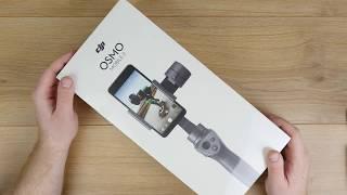 DJI Osmo Mobile 2 // Unboxing, erster Eindruck & schnelles Setup! // Smartphone Gimbal // DEUTSCH