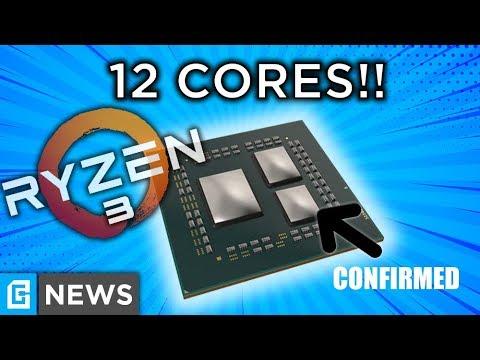 3rd Gen Ryzen OFFICIALLY More Than 8 Cores!