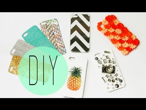 DIY Cell Phone Case - How To Make Cute Iphone 6S Designs by ANN LE