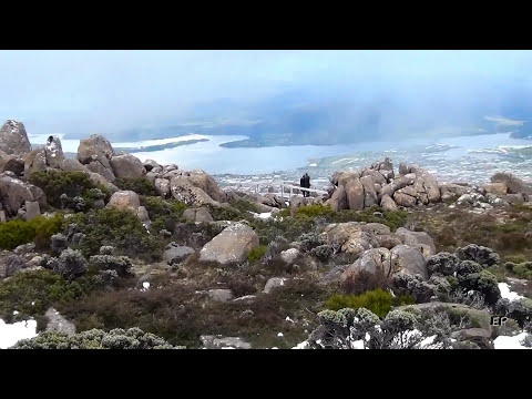 TASMANIA- scenic drive up to MT. Wellington (Hobart) Aug2012