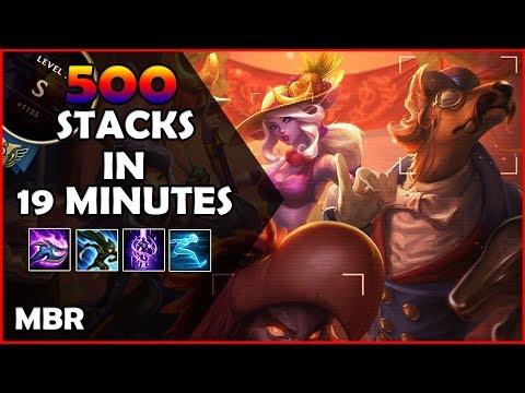 500 Stacks In 19 Minutes! | Archduke Nasus Vs GangPlank | RTD #15