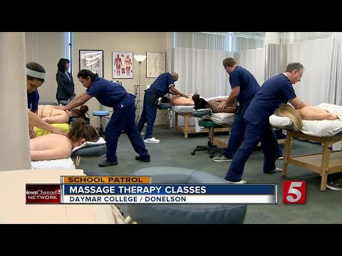 Students Learn Massage Therapy At Daymar College