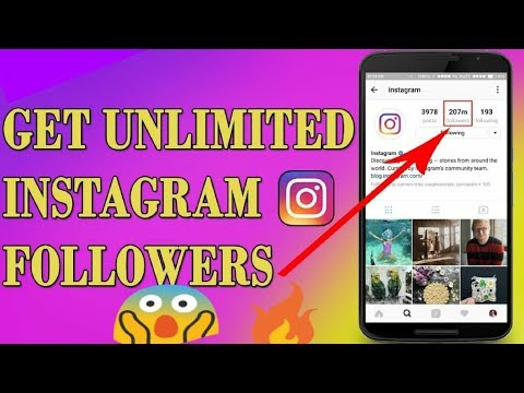 How to get 100% Real Unlimited LIKES 🔥FOLLOWERS on Instagram without following others !!